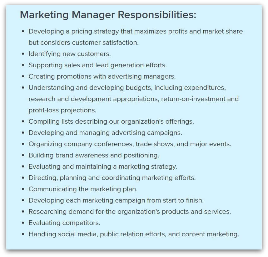 marketing-manager-responsibilities