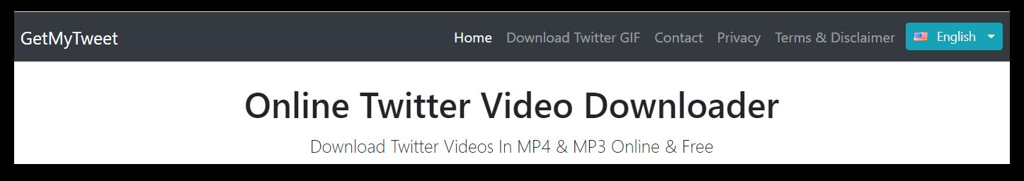 GetMyTweet-Video-Downloader