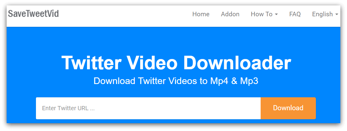 SaveTweetVid-Downloader