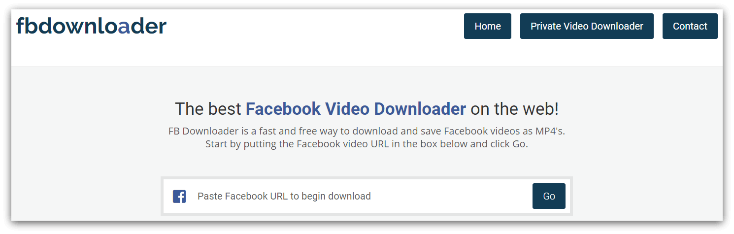15 Top Free Facebook Video Downloaders In 2020 Lumen5 Learning Center Copy the facebook video now if you have a question on how to download facebook videos on android, iphone, ipad, mac or windows, it's not easy!, but don't worry about it, i. 15 top free facebook video downloaders
